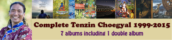 Complete Tenzin Choegyal Pack - download all of Tenzin's albums from 2000-2010